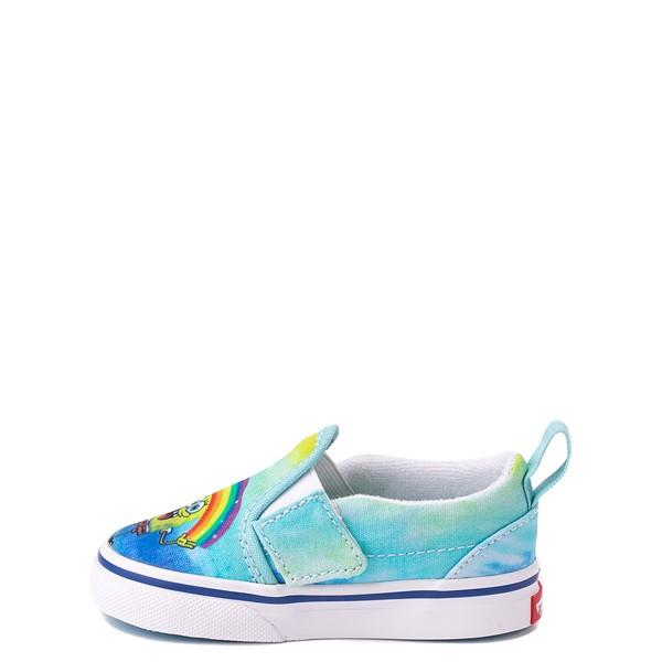 alternate view Vans x SpongeBob SquarePants™ Slip On V Imaginaaation Skate Shoe - Baby / Toddler - MulticolorALT1