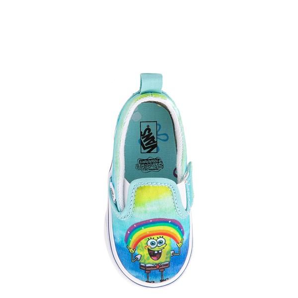 alternate view Vans x SpongeBob SquarePants™ Slip On V Imaginaaation Skate Shoe - Baby / Toddler - MulticolorALT2