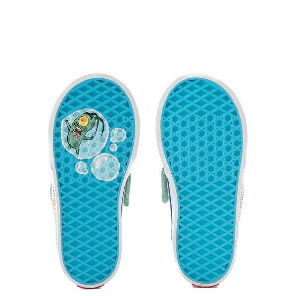 alternate view Vans x SpongeBob SquarePants™ Slip On V Imaginaaation Skate Shoe - Baby / Toddler - MulticolorALT3
