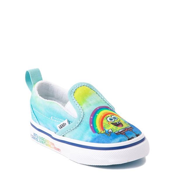 alternate view Vans x SpongeBob SquarePants™ Slip On V Imaginaaation Skate Shoe - Baby / Toddler - MulticolorALT5