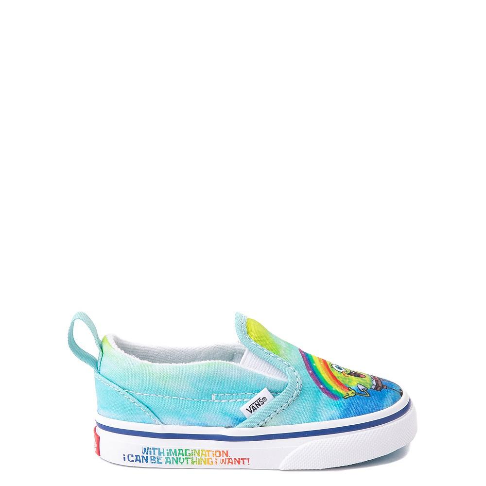 Vans x SpongeBob SquarePants™ Slip On V Imaginaaation Skate Shoe - Baby / Toddler - Multicolor
