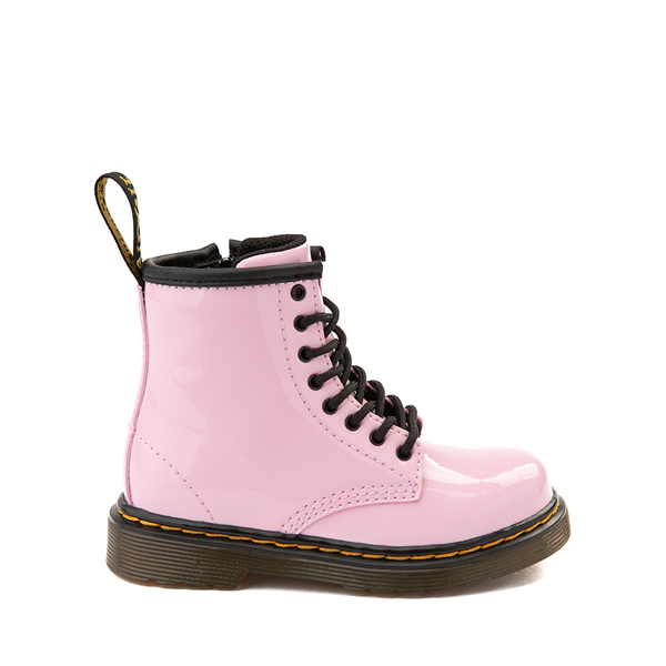 Main view of Dr. Martens 1460 8-Eye Patent Boot - Toddler - Pale Pink