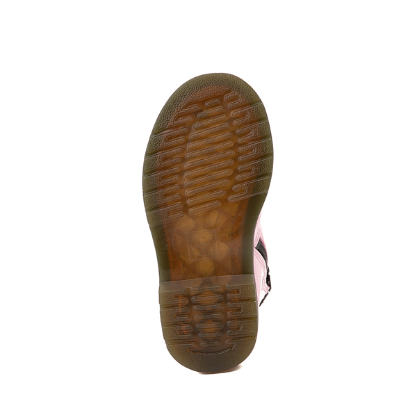 alternate view Dr. Martens 1460 8-Eye Patent Boot - Toddler - Pale PinkALT3