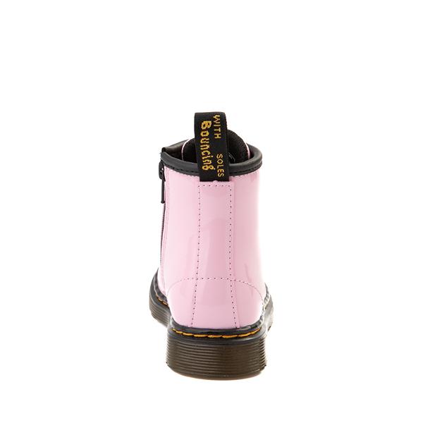 alternate view Dr. Martens 1460 8-Eye Patent Boot - Toddler - Pale PinkALT4