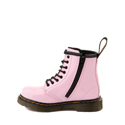 Alternate view of Dr. Martens 1460 8-Eye Patent Boot - Toddler - Pale Pink