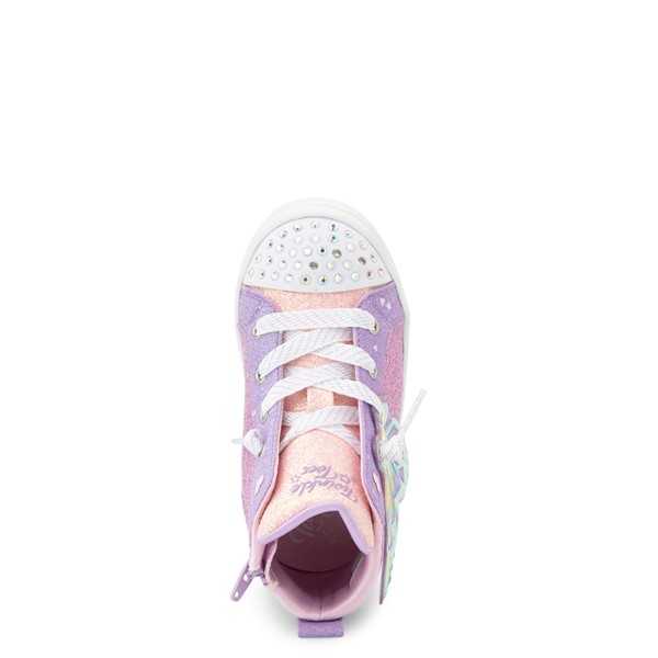 alternate view Skechers Twinkle Toes Twi-Lites Butterfly Wishes Sneaker - Toddler - PinkALT2