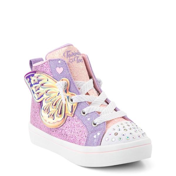alternate view Skechers Twinkle Toes Twi-Lites Butterfly Wishes Sneaker - Toddler - PinkALT5