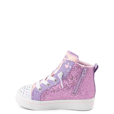 Alternate view of Skechers Twinkle Toes Twi-Lites Butterfly Wishes Sneaker - Toddler - Pink