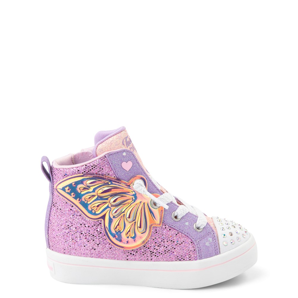 Skechers Twinkle Toes Twi-Lites Butterfly Wishes Sneaker - Toddler - Pink