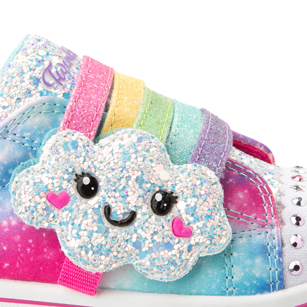 alternate view Skechers Twinkle Toes Sparkle Rays Rainbow Cloud Sneaker - Toddler / Little Kid - MulticolorALT2B