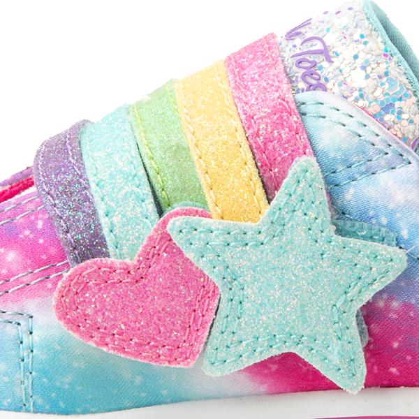 alternate view Skechers Twinkle Toes Sparkle Rays Rainbow Cloud Sneaker - Toddler / Little Kid - MulticolorALT2C