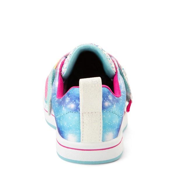 alternate view Skechers Twinkle Toes Sparkle Rays Rainbow Cloud Sneaker - Toddler / Little Kid - MulticolorALT4