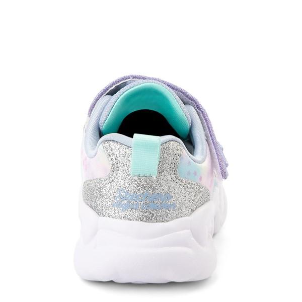 alternate view Skechers Unicorn Storm Wing Dazzle Sneaker - Toddler - SilverALT4