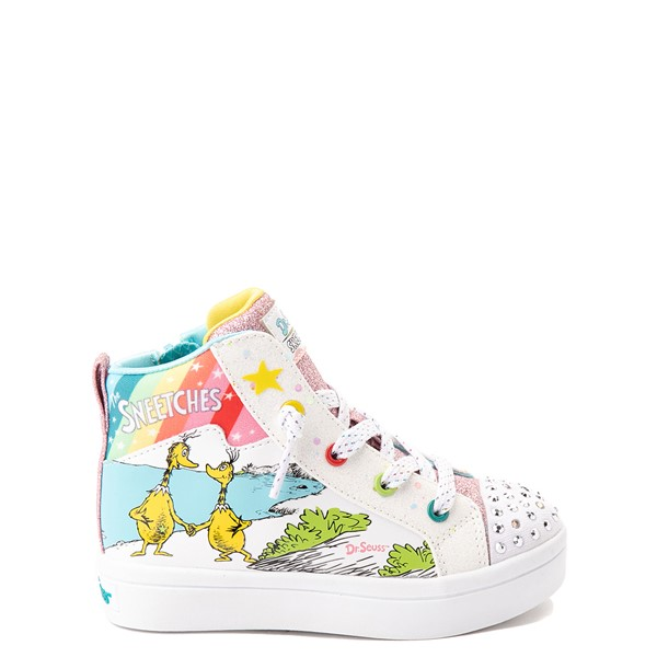 Main view of Skechers x Dr. Seuss Twi-Lites The Sneetches Sneaker - Toddler - White / Rainbow