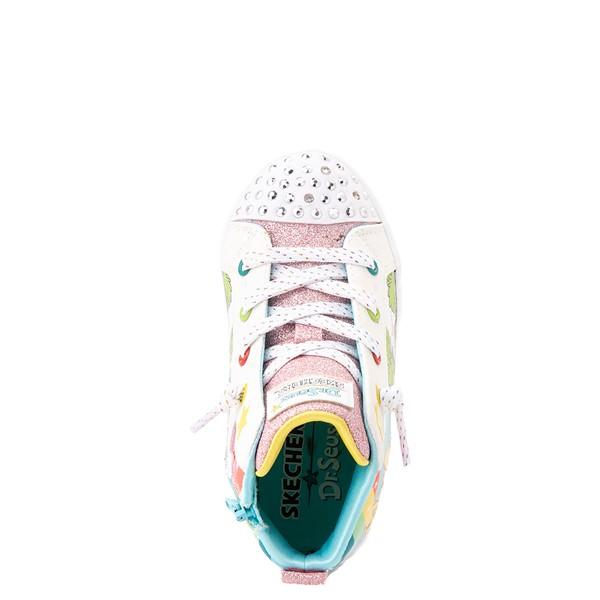 alternate view Skechers x Dr. Seuss Twi-Lites The Sneetches Sneaker - Toddler - White / RainbowALT2