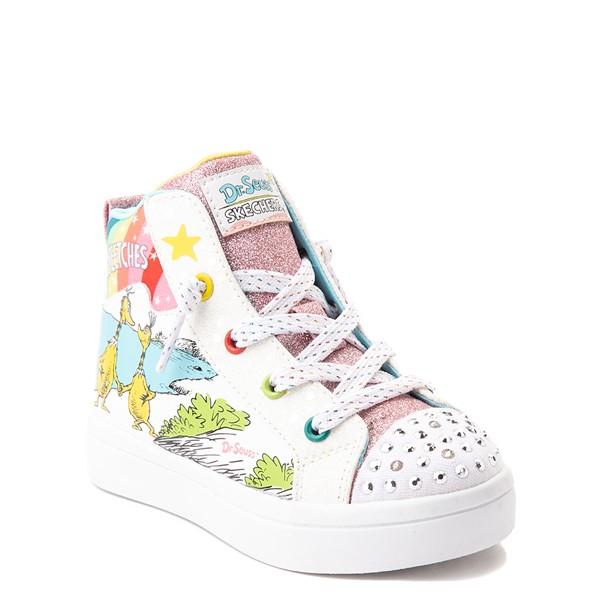alternate view Skechers x Dr. Seuss Twi-Lites The Sneetches Sneaker - Toddler - White / RainbowALT5