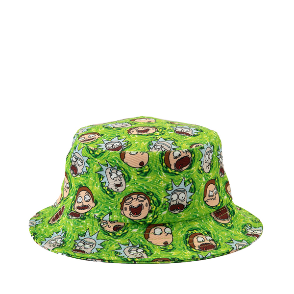 alternate view Rick And Morty Bucket Hat - GreenALT1