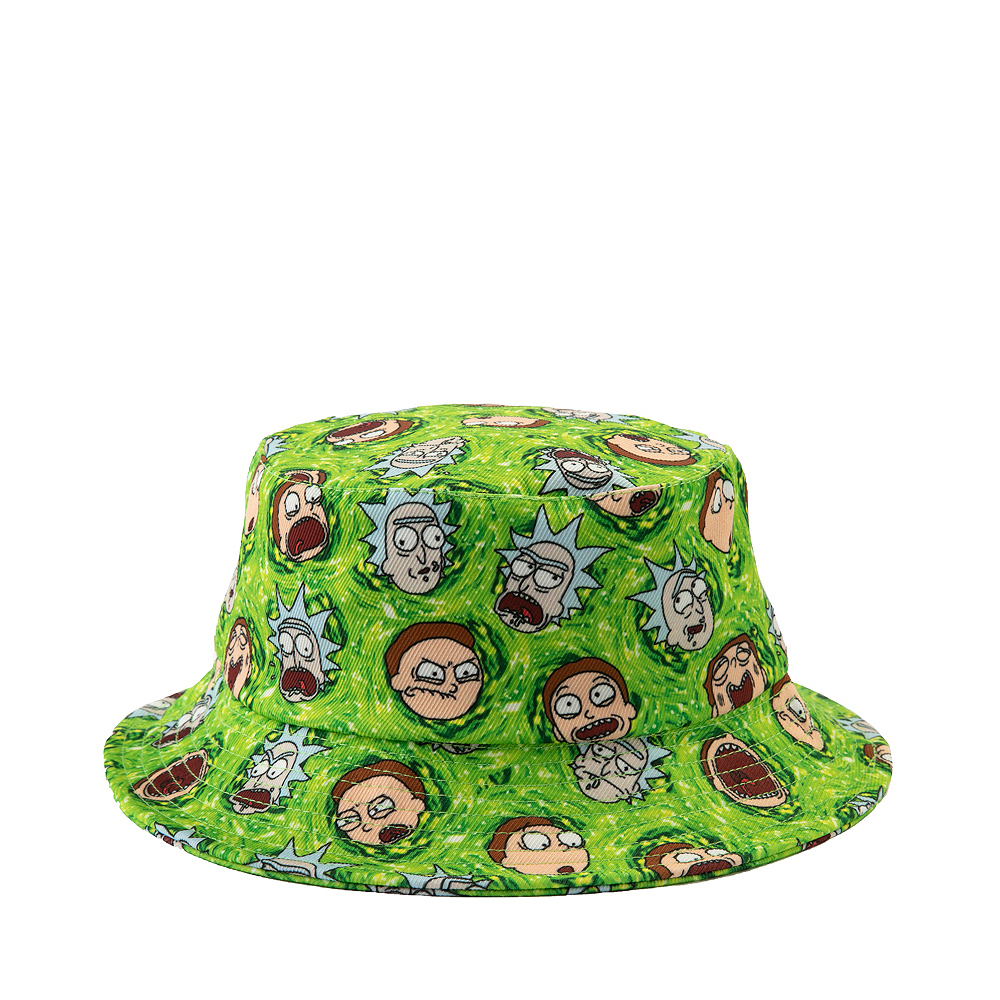 Rick And Morty Bucket Hat - Green