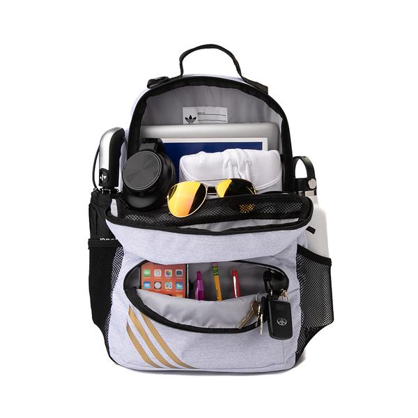 alternate view adidas National Backpack - Light GrayALT1