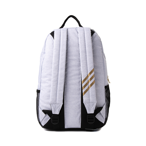 alternate view adidas National Backpack - Light GrayALT2