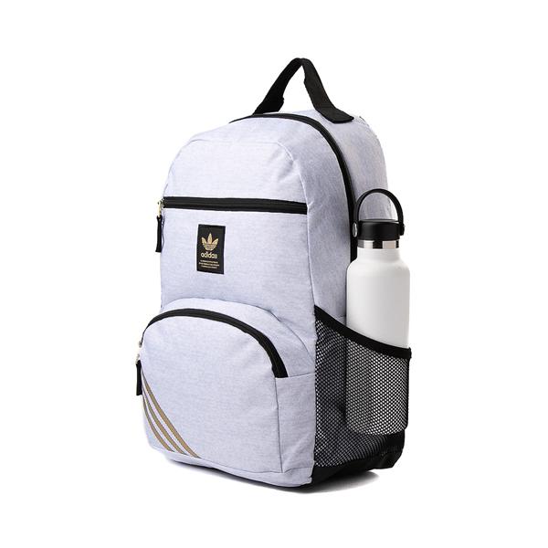 alternate view adidas National Backpack - Light GrayALT4