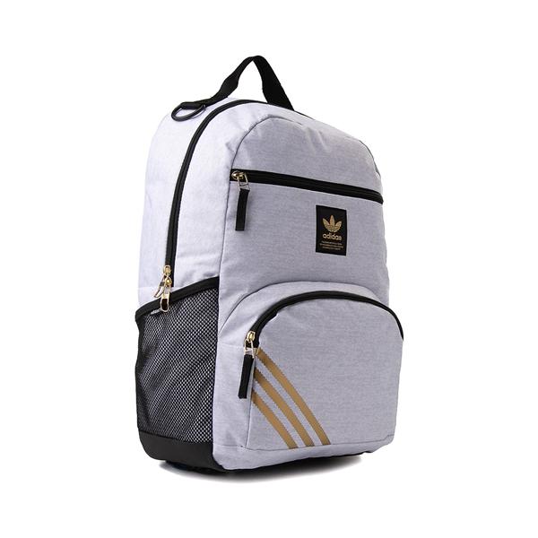 alternate view adidas National Backpack - Light GrayALT4B