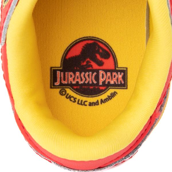 alternate view Reebok x Jurassic Park Classic Leather Athletic Shoe - Baby / Toddler - RedALT2B