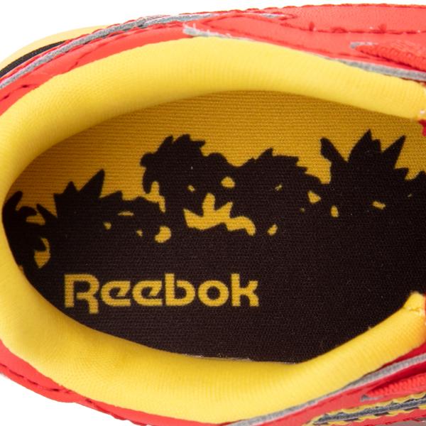 alternate view Reebok x Jurassic Park Classic Leather Athletic Shoe - Baby / Toddler - RedALT2C