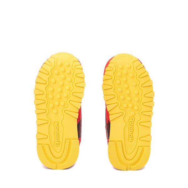 alternate view Reebok x Jurassic Park Classic Leather Athletic Shoe - Baby / Toddler - RedALT3