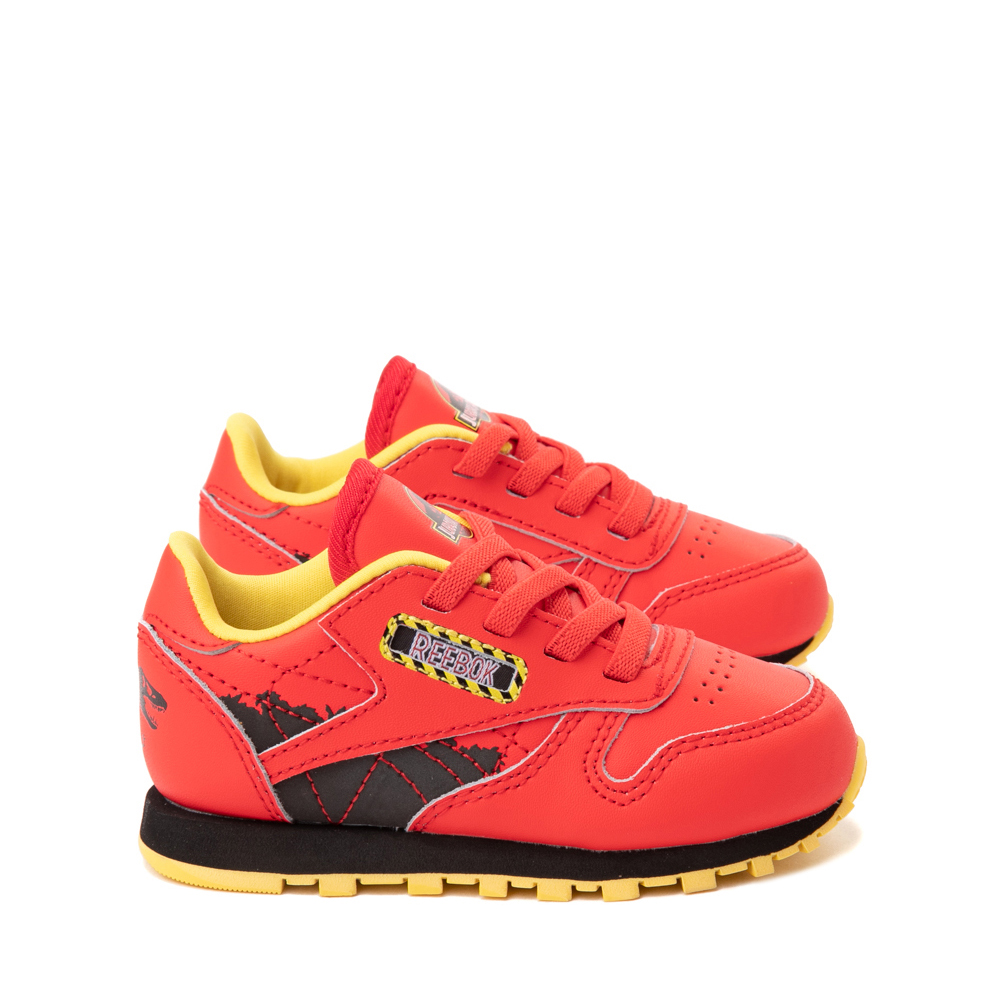 Reebok x Jurassic Park Classic Leather Athletic Shoe - Baby / Toddler - Red