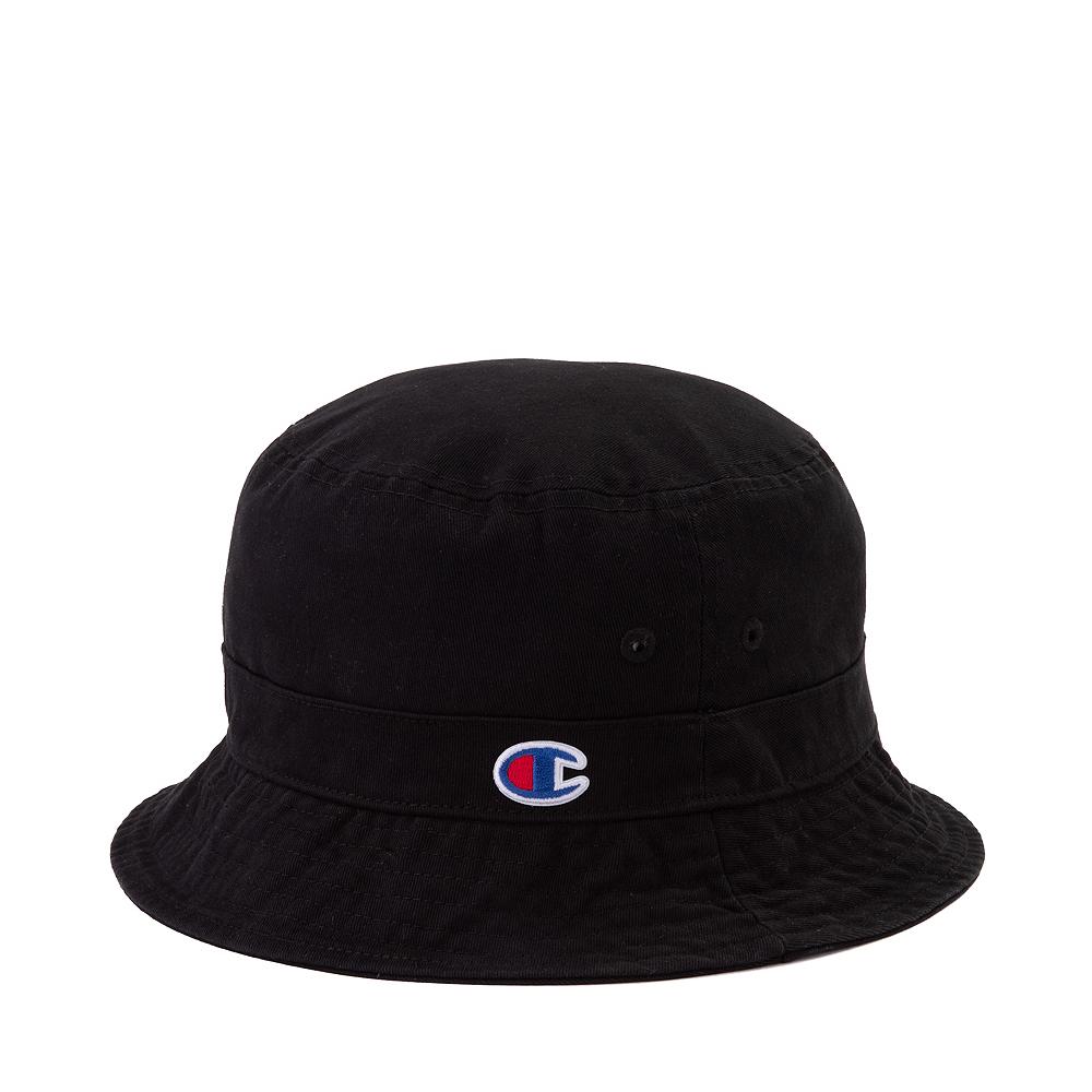 Champion Logo Bucket Hat - Black