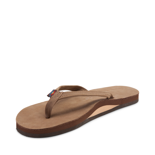 alternate view Womens Rainbow 301 Leather Sandal - Blackforest BrownALT2