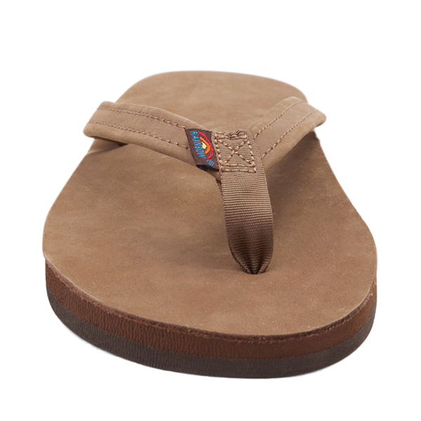 alternate view Womens Rainbow 301 Leather Sandal - Blackforest BrownALT4