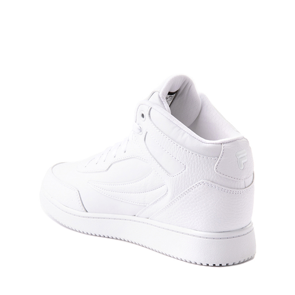 alternate view Fila Taglio Athletic Shoe - Big Kid - White MonochromeALT1
