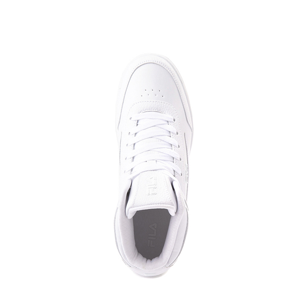 alternate view Fila Taglio Athletic Shoe - Big Kid - White MonochromeALT2