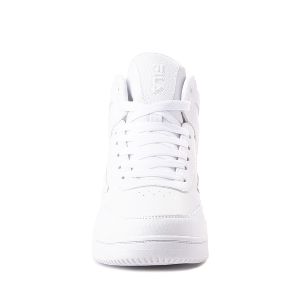 alternate view Fila Taglio Athletic Shoe - Big Kid - White MonochromeALT4