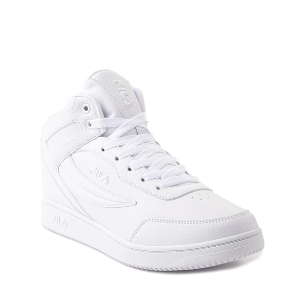 alternate view Fila Taglio Athletic Shoe - Big Kid - White MonochromeALT5