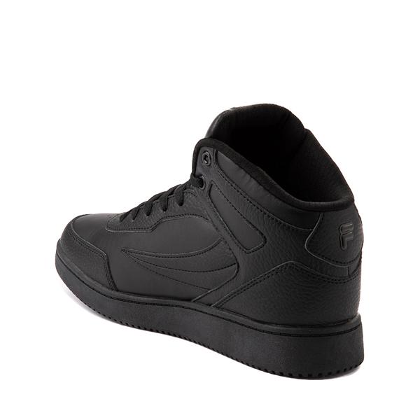 alternate view Fila Taglio Athletic Shoe - Big Kid - Black MonochromeALT1