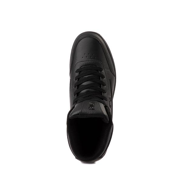 alternate view Fila Taglio Athletic Shoe - Big Kid - Black MonochromeALT2