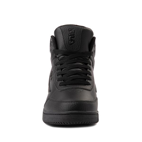alternate view Fila Taglio Athletic Shoe - Big Kid - Black MonochromeALT4