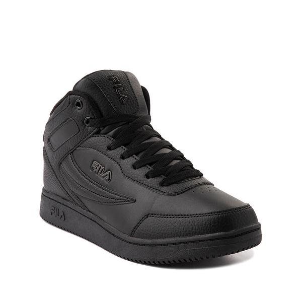 alternate view Fila Taglio Athletic Shoe - Big Kid - Black MonochromeALT5