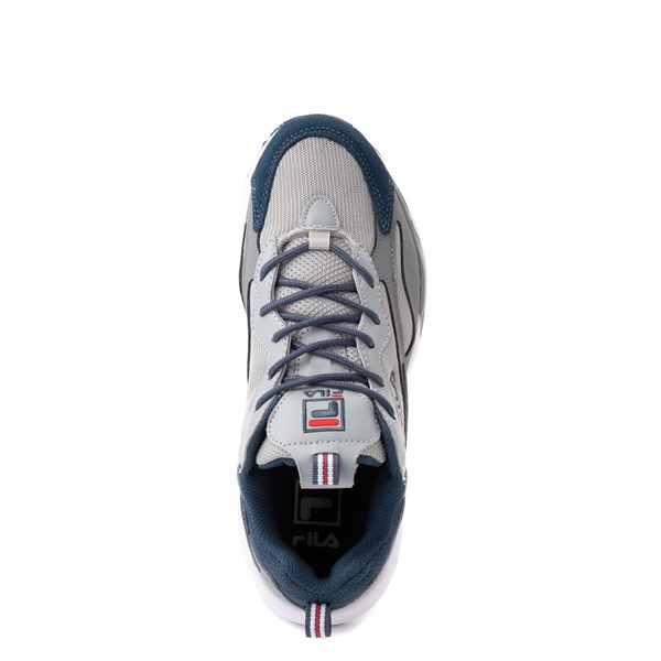 alternate view Fila Ray Tracer Athletic Shoe - Big Kid - Gray / NavyALT6
