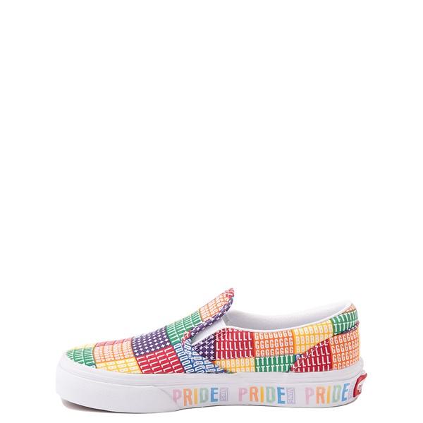 alternate view Vans Slip On Pride Skate Shoe - Little Kid - MulticolorALT1