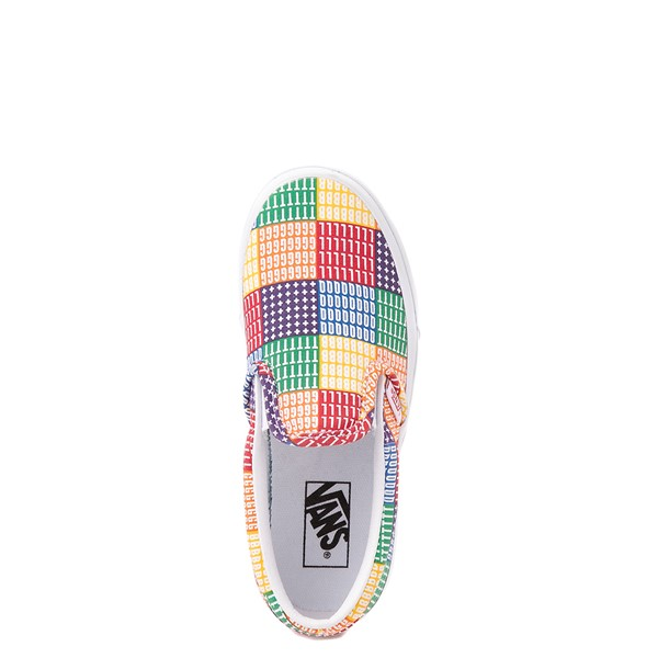 alternate view Vans Slip On Pride Skate Shoe - Little Kid - MulticolorALT2