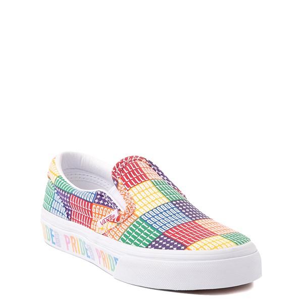 alternate view Vans Slip On Pride Skate Shoe - Little Kid - MulticolorALT5