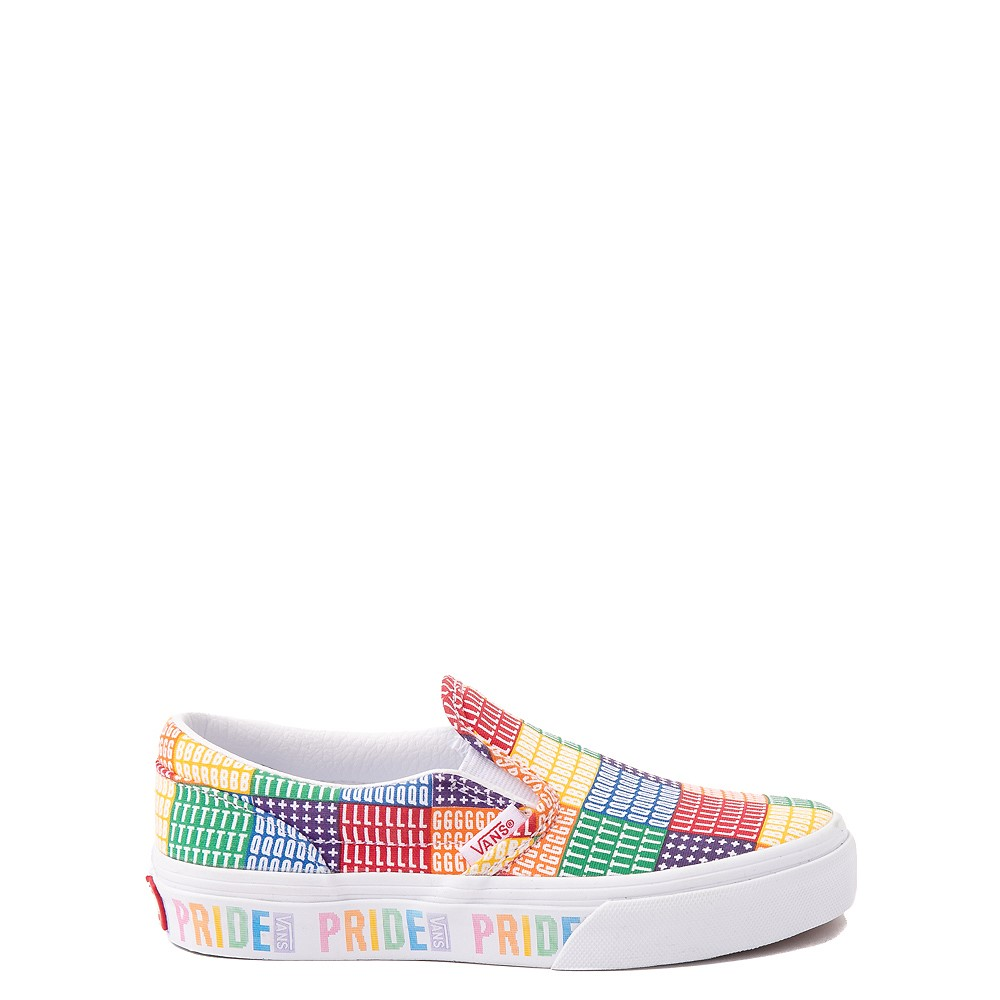 Vans Slip On Pride Skate Shoe - Little Kid - Multicolor