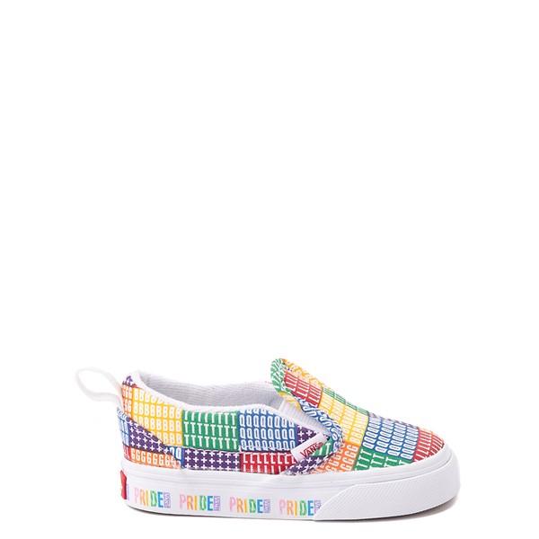 Main view of Vans Slip On Pride Skate Shoe - Baby / Toddler - Multicolor