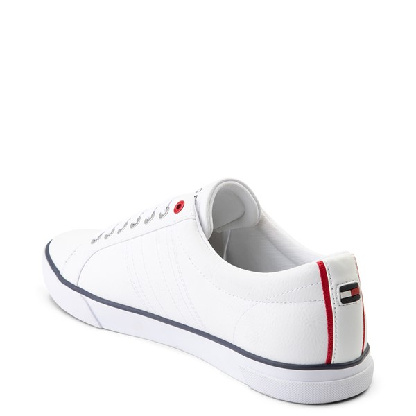alternate view Mens Tommy Hilfiger Revel Casual Shoe - WhiteALT1