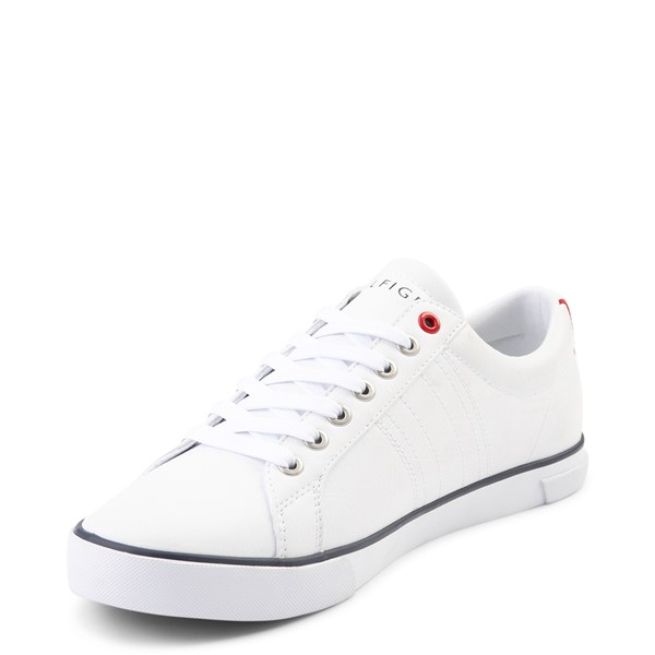 alternate view Mens Tommy Hilfiger Revel Casual Shoe - WhiteALT2
