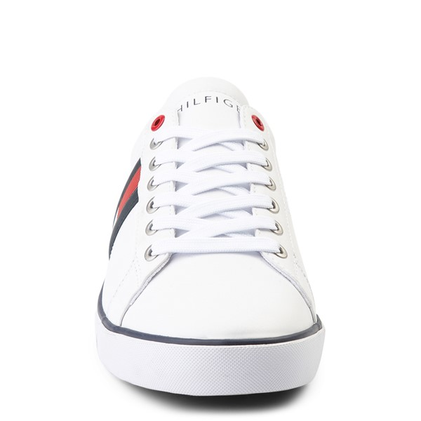 alternate view Mens Tommy Hilfiger Revel Casual Shoe - WhiteALT4